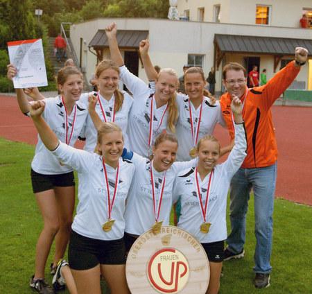 CUP Siegerinnen: UNION Nussbach